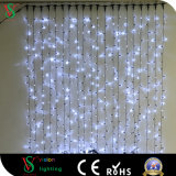 セリウムの証明書が付いているクリスマスの装飾LEDのカーテンストリングライト