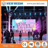 P6는 옥외 LED 상업 광고 스크린을 방수 처리한다