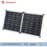Module solaire pliable portable 100W fabriqué par silicium cellulaire solaire monocristallin