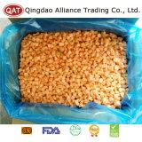 Export-gefrorener gewürfelter gelber Standardpfirsich