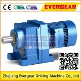 Gearmotor helicoidal elevado da eficiência R Seires