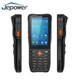 Programa de lectura terminal de mano androide WiFi 4G-Lte del explorador RFID NFC del código de barras del soporte de Jepower Ht380k PDA