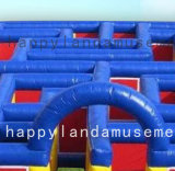 Labyrinthe géant gonflable Design personnalisé pour les enfants