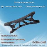 Präzisions-Plastikschwarzes POM CNC-zentrale Selbstmaschinerie-Ersatzteile