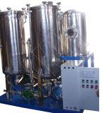 使用された油圧オイルのための高真空の潤滑油の清浄器機械
