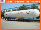 Tri-Axle 25ton del depósito de gas Trailer