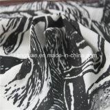 100% Poli Chiffon Impressão Digital