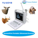 動物の使用(YJ-U318)のための獣医の携帯用完全なデジタル超音波機械