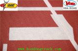 suministrar certificado IAAF pista de atletismo de goma prefabricada