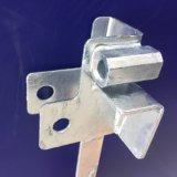 Soporte de metal eléctrico parte de montaje horizontal