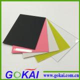 A cor flexível transparente moldou a folha acrílica do acrílico de /2mm da folha do espelho