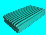 Le concasseur de pierres de machine d'abattage partie la plaque fixe de maxillaire dans Mn13 pour la ligne concasseur de pierres