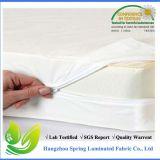 Encasement тюфяка размера ткани Терри хлопка размера ферзя водоустойчивый изготовленный на заказ