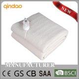 Manta eléctrica del paño grueso y suave de las lanas sintetizadas de la aprobación de Ce/CB/GS/BSCI