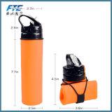 Plástico portátil ambiental que bebe a garrafa de água Foldable vazia