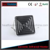 Piatto infrarosso di ceramica elettrico del riscaldatore con la termocoppia