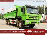 Sinotruk HOWO 290-371HP 6X4 forme de U tombereau/camion à benne basculante/ Camion-benne