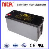 Alta calidad de 12V 220AH AGM de Plomo-ácido de batería de ciclo profundo Solar
