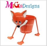 Plantadores de metal animal Popular Wholesale Multifunctional Spot Dog