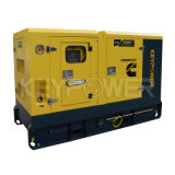 50Гц шести цилиндров дизельного двигателя типа молчания генераторной установки 180kav Основная мощность