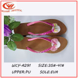 2016 Flipflops der Form-Art-Sommer-Frauen