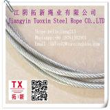 El cable de acero galvanizado Electro 6*19+PP 2 mm.