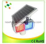 Blinkende LED-Solarverkehrszeichen-Licht-Röhrenblitz-Verkehrs-Warnleuchte
