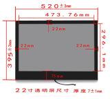 """Yashi 22"""" Affichage panneau LCD panneau transparent transparent"""