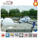 Im Freien großes weißes Geodäsieabdeckung-Stahlzelt für Ereignisse