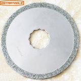 El diamante circular redondo de la lámina del segmento de la lechada del diamante vio la lámina