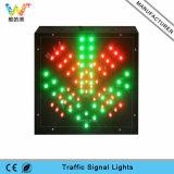 semaforo verde rosso della stazione LED del tributo di traffico a singhiozzo di 200mm