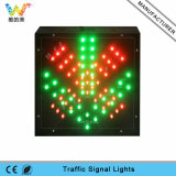 200mmの赤い緑停止は信号通行料端末LEDの行く