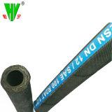 Mangueira Hidráulica de fabricantes de tubos de alimentação disponível de 2 Polegadas SAE100 R2 4000 Psi a mangueira hidráulica