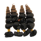 Extensão não processada do cabelo do Virgin brasileiro do cabelo humano da onda do corpo