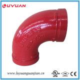 Adaptateur malléable de bride de fer (ajustage de précision de pipe Grooved) avec FM/UL reconnu