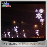 Lumières extérieures de motif de décoration de la rue DEL de Noël de vacances