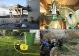No tóxico No huele de alambre de acero y fibra de PVC flexible Compuesto