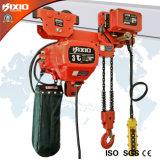 matériel de levage duel électrique d'élévateur à chaînes du l'Inférieur-Espace libre 3t