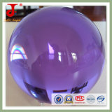Bille en verre transparent Crystal Violet (JD-CB-101)