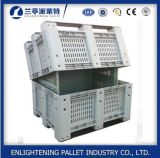 기업 자동차 부속 기계설비를 위한 큰 플라스틱 깔판 상자