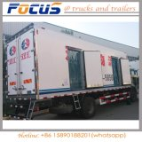 Venda de fábrica Isulated 8t Frigorífico Van corpo da máquina para venda