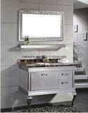Двойной шкаф ванной комнаты нержавеющей стали зеркала