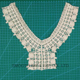 De vrouwen vormen Katoenen van de Hals van het Borduurwerk Patroon haken de Decoratie van de Kraag van het Kant