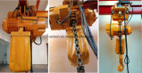 Hoist Trolley를 가진 1ton Double Speed Hoist/Electric Chain Hoist