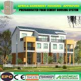 Helles Stahlkonstruktion-Stahlrahmen-modulares vorfabrizierthaus plant Gebäude