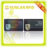 Impression latérale personnalisée de prix usine double/carte sèche IDENTIFICATION RF en plastique blanc MIFARE DESFire 2k avec l'impression séquentielle de numéro de /Uid