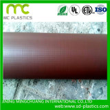 PVC Brown/toda la lona de los colores con impermeable para las cubiertas de la piscina/de la azotea/de la construcción