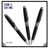고급 호화스러운 선물 펜 기념품 금속 배럴 쉘 펜