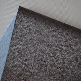Gostaria de seda de couro sintético com relevo para a decoração de paredes Adorno Inicial