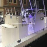 T-Top 24 pies de la consola central GRP Abra barca de pesca